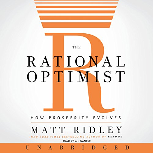 The Rational Optimist audiobook cover art