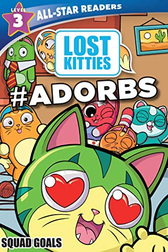 Hasbro Lost Kitties Level 3 Squad Goals: #ADORBS (All-Star Readers)