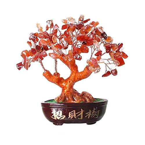 DFGDFG Crystal Money Spinning Ornament Hermoso Decoración del Hogar Crystal Money Spinning Ornament Hermoso Negocio (Color : Red)