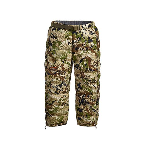 Great Deal! SITKA Gear Men's Kelvin Lite Down 3/4 Camo Insulated Warm Packable Hunting Pants, Optifa...