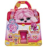 Little Live Scruff-A-Luvs Cutie Cuts! Shave, Reveal and Style, Plush Rescue Pet - Pink Puppy, Multicolor (30146)