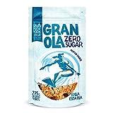 Granola sin Azúcar - 275 Gramos - Horneada con Crema de Cacahuete - Contiene Copos de Avena Integrales - Ingredientes Naturales - Proceso Artesano - La Newyorkina