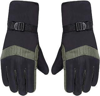 Outdoor Sports Ski Gloves Winter Waterproof Snowboard Heated Gloves Warm Snowmobile Snow Gloves Men Women