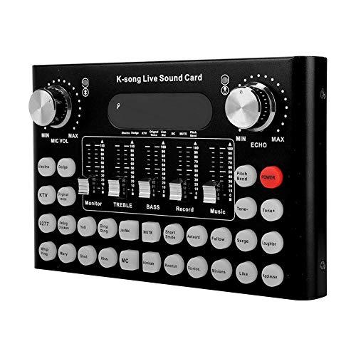 Mezclador de Audio Diyeeni | Consola mezcladora de Audio móvil.