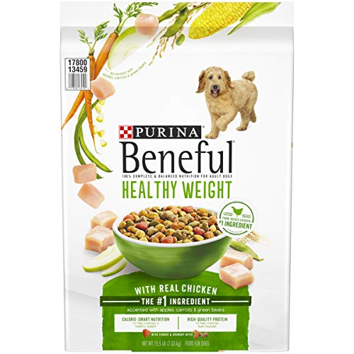 Price comparison product image Purina Beneful Healthy Weight Dry Dog Food,  Healthy Weight With Real Chicken - 15.5 lb. Bag