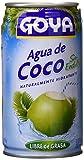 Goya Agua de Coco Sin Azúcar - Paquete de 24 unidades...
