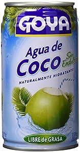 Goya Agua de Coco Sin Azúcar - Paquete de 24 unidades