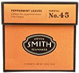 Smith Teamaker Peppermint Leaves Blend No. 45 (Large Cut Herbal...