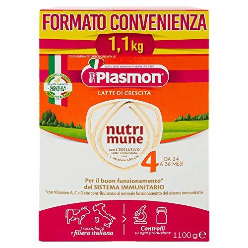 Plasmon Nutri-Mune Latte 4 Crescita Polvere 1100g