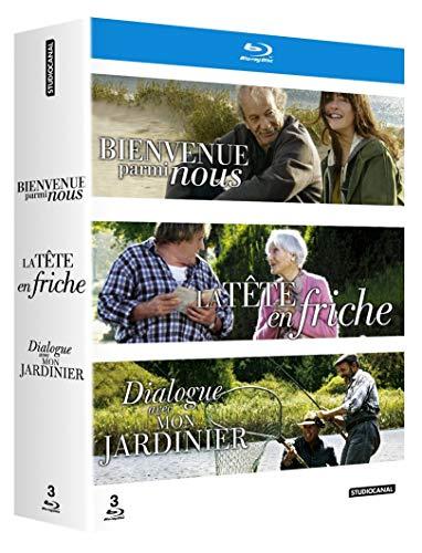 Coffret Jean Becker-Bienvenue Parmi Nous + La tête en friche + Dialogue avec Mon Jardinier [Blu-Ray]