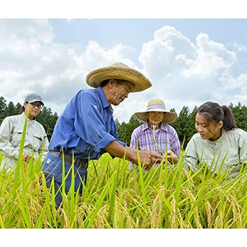 滝本米プレミアム 無農薬 玄米 30kg 令和3年産 新米 福井県産 自然農法 米 農薬 無 化学肥料 不使用 コメ 残留農薬無し