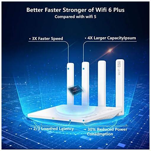 HONOR Router 3 Wi-Fi 6 Enrutador Inalámbrico de Doble Banda, Velocidad de Wi-Fi máximo 3000 Mbps (5GHz + 2.4 GHz… 2