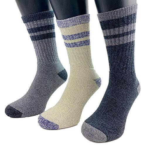 Socks for Men Women Ladies Unisex Moisture Wicking Every Day Athletic Cotton Running Socks Cushioned Anti Blister Sports Socks No Stink Trainer Regular Size 6 11 Pack of 3