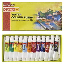 Camel Student Water Color Tube – 5Ml Each, 12 Shades