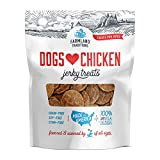 Farmland Traditions Filler Free Dogs Love Chicken Premium Jerky Treats for Dogs, 1 lb. Bag