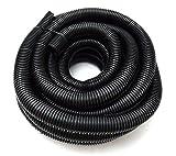 Wire Loom Black 20' Feet 3/4' Split Tubing Hose Cover Auto Home Marine