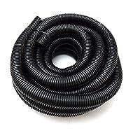 "American Terminal Wire Loom Black 20' Feet 3/4"" Split Tubing Hose Cover Auto Home Marine"