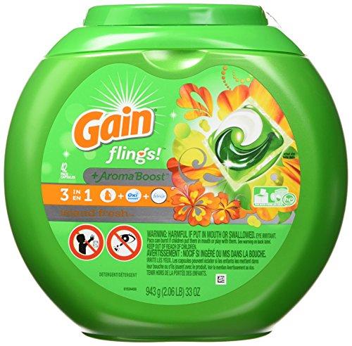 Gain Flings Island Fresh Waschmittel, 42 Karat