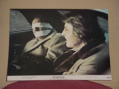 MOVIE POSTER: THE SEVEN UPS LOBBY CARD #7-20TH CENTURY FOX-HOSTAGE VG