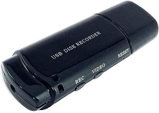 Pen drive Espião com Câmera Espiã e Microfone Gravador Voz