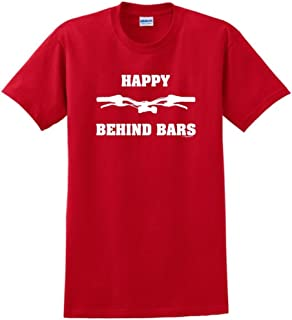 Happy Behind Bars Dirt Bike T-Shirt
