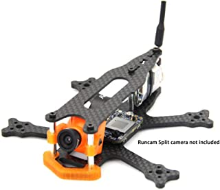Usmile Frog115 115mm Wheelbase 3mm Thick 2.5 inch Micro Carbon Fiber FPV Racing Quadcopter Frame Compatible with Runcam Split mini2 caddx Turtle v2 for Indoor/Backyard/Park/ FPV Drone Racing