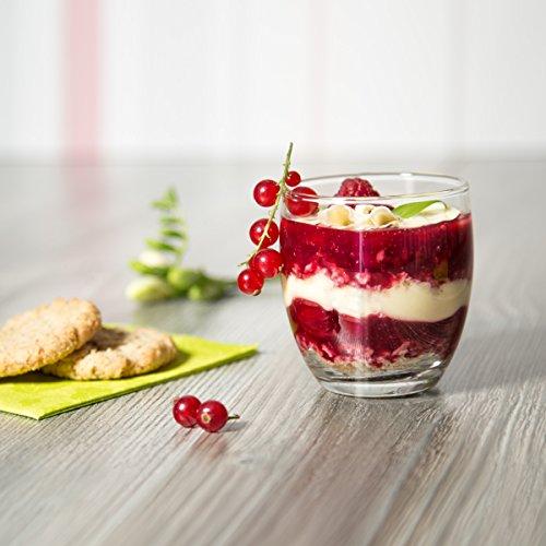 Sixby Dessertgläser - Atika Ø 72,5 mm, Höhe 81 mm (6 Stück)