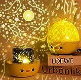 FemKey Lampara Proyector Infantil, Lámpara Nocturna LED para Bebé 6 Película de...
