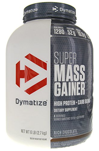 Dymatize Super Mass Gainer Protein Supplement with...