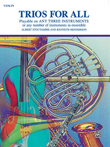 Trios for All: Violin (For All Series)