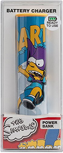 Tribe Simpsons Bartman USB Portable Universal Power Bank External Battery Charger for Smartphone