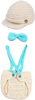 Shaoyao Newborn Baby Photography Props Boy Girl Crochet Costume Outfits