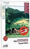 Schwarzwald Mühle Fotopapier DIN A4: 40 Bl. Hochglanz-Fotopapier Supreme exklusiv 270g/A4 (Beschichtetes Fotopapier)