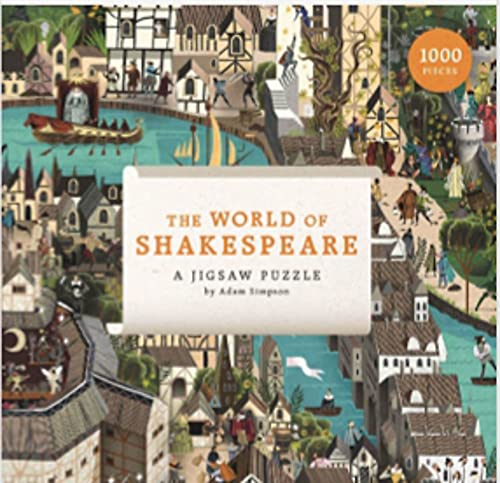 The World of Shakespeare: a Jigsaw Puzzle /Anglais