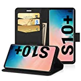 EasyAcc Case for Samsung Galaxy S10 Plus / S10+, Leather