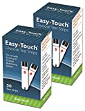 Easy-Touch Glucose Test Strips 50 Count (2pack)