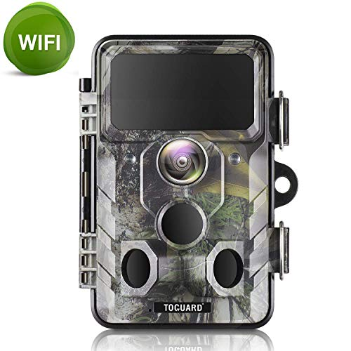 TOGUARD WiFi Trail Camera 20MP 1296P Hunting Camera with...