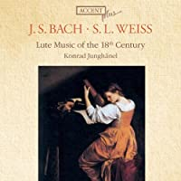 Bach / Weiss: Lute Music of the 18th Century by Konrad Junghanel (2010-04-27)