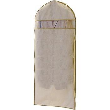 エーワン 洋服カバー WORTHY WORK プレーン サイドファスナーカバー(コート・ワンピース用) 2枚組 SA311