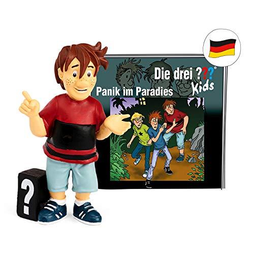 tonies Hörfiguren für Toniebox - Die DREI ??? Kids - Panik im Paradies - ca. 70 Min. - Ab 6 Jahre -DEUTSCH