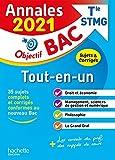 Annales Bac 2021 Tout-En-Un Bac STMG (CONTRÔLE CONTINU + ENSEIGNEMENT DE SPECIALITE)