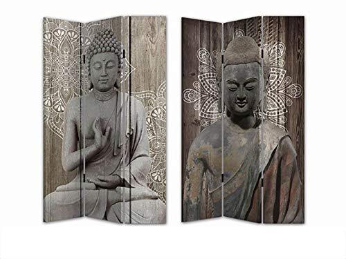 HTI-Line Paravent Buddha 3