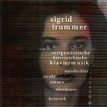 Zeitgenössische Österreichische Klaviermusik