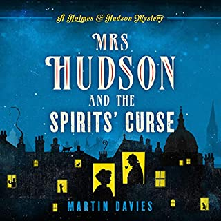 Mrs Hudson and the Spirits' Curse cover art