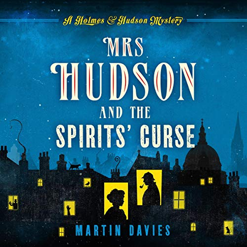 Mrs Hudson and the Spirits' Curse audiobook cover art