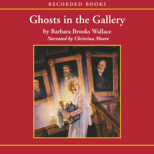 Ghosts in the Gallery audiobook cover art
