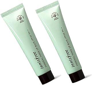 イニスフリーミネラルメイクアップベースSPF30/ PA++ 40mlx2本セット3色韓国コスメ、innisfree Mineral Make up Base SPF30 / PA++ 40ml x 2ea Set 3 Colors Korean Cosmetics [並行輸入品] (No 2. green)