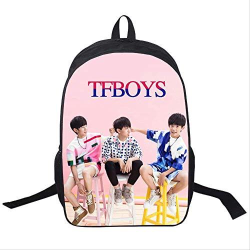 Rucksäcke,Gruppen Series Casual Daypack,TF Boy Group Muster Schultasche,verschleißfest und komfortabel 16 Zoll.17