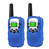 Children Walkie Talkies 2 pcs Long Range Kids Walky Talky 8 Channels License