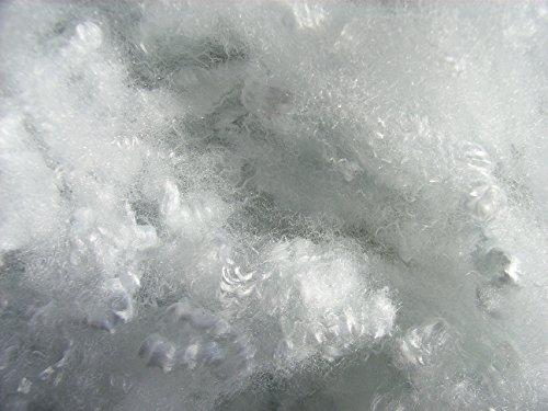 Zupf-Schnee, weiß, 1 kg, schwer entflammbar British Standard (EUR 19,90/kg), Schneewatte, Dekoschnee, Kunstschnee